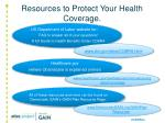 resources to protect your health coverage