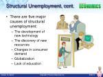 structural unemployment cont