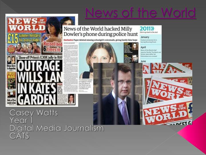 news of the world n.