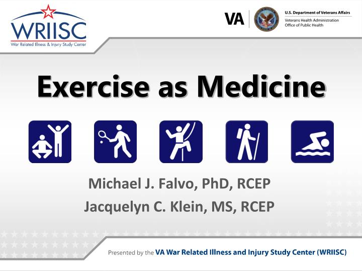 exercise as medicine n.