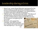 leadership during a crisis5