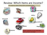 review which items are income