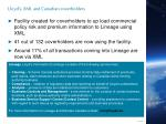 lloyd s xml and canadian coverholders