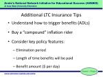 additional ltc insurance tips