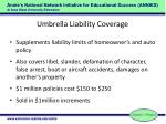 umbrella liability coverage