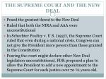 the supreme court and the new deal