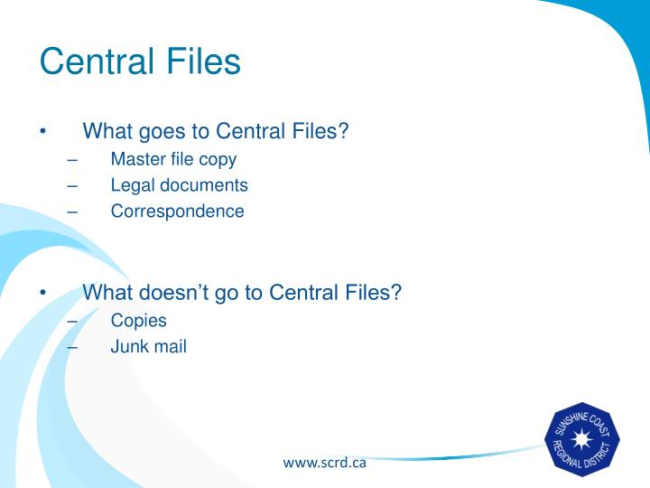 Central Files