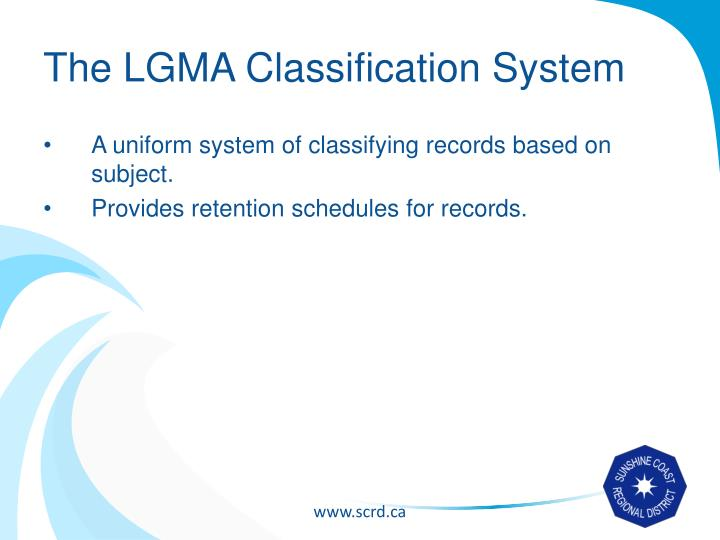 The LGMA Classification System