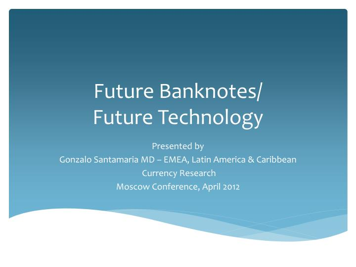 future banknotes future technology n.
