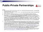 public private partnerships12