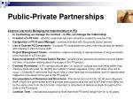 public private partnerships9
