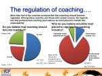 the regulation of coaching