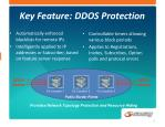 key feature ddos protection