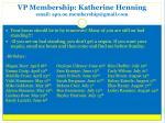 vp membership katherine henning email apo oe membership@gmail com