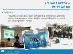 hawaii energy what we do