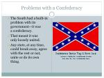 problems with a confederacy