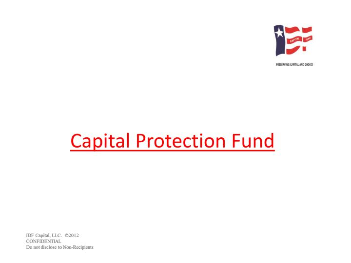 capital protection fund n.