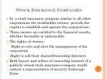 stock insurance companies