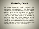 the ewing quote