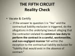the fifth circuit reality check1