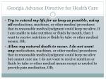 georgia advance directive for health care2