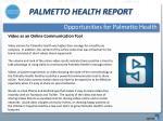 palmetto health report11