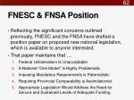 fnesc fnsa position