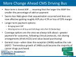more change ahead cms driving bus