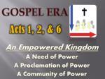 gospel era