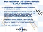 permanent visa and temporary visas labour agreements1