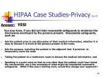 hipaa case studies privacy con t2