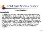 hipaa case studies privacy