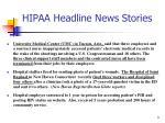 hipaa headline news stories1