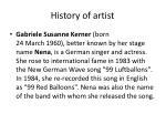 history of artist