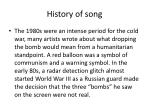 history of song