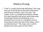 history of song1