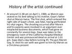 history of the artist continued