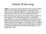 history of the song