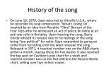 history of the song2