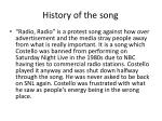 history of the song3
