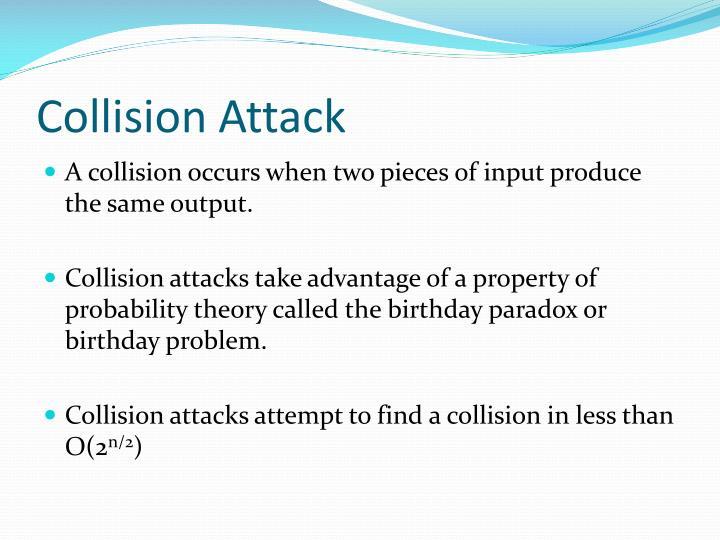 Collision Attack