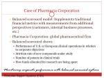 case of pharmacia corporation