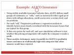 example alico insurance