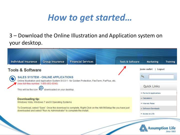 How to get started…