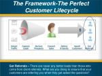 the framework the perfect customer lifecycle