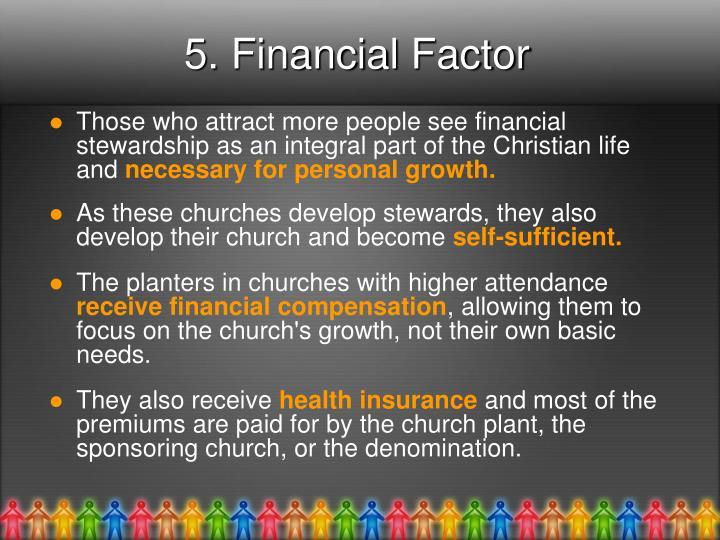 5. Financial Factor