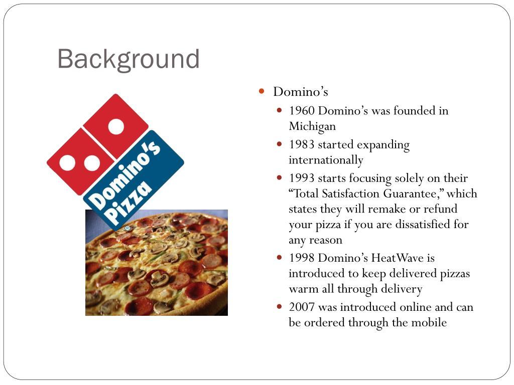 PPT - Pizza Hut vs Domino's PowerPoint Presentation - ID:1676567
