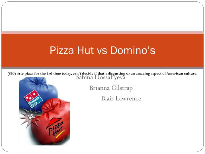 pizza hut vs domino s n.