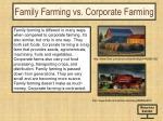 family farming vs corporate farming
