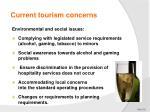current tourism concerns5